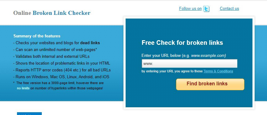Website Broken Link Checker For Blogger In Tamil